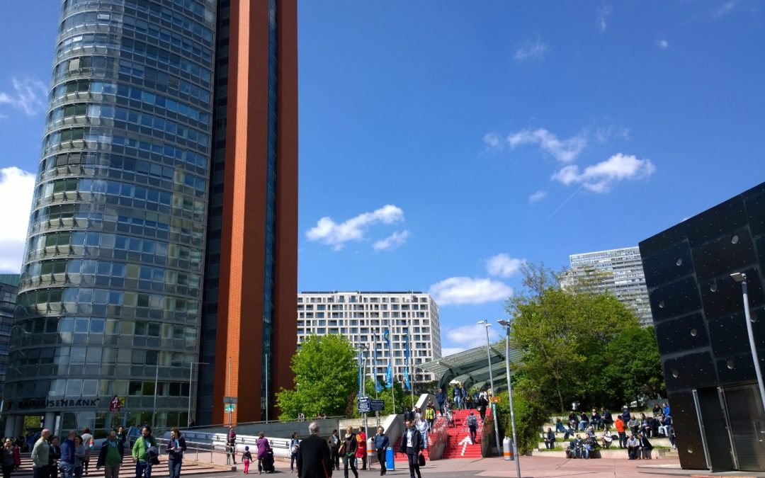 Blog post: EGU general assembly in Vienna